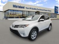 This 2013 Toyota RAV4 Limited is Well Equipped with All