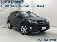 CARFAX One-Owner. Clean CARFAX. Black 2013 Toyota RAV4