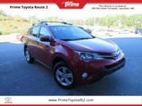 New Price! 2013 Toyota RAV4 XLE in Barcelona Red
