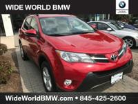 Clean CARFAX. Barcelona Red Metallic 2013 Toyota RAV4