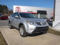 2013 Toyota RAV4 Certified. CARFAX One-Owner. Odometer