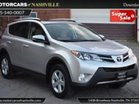This 2013 Toyota RAV4 4dr XLE features a 2.5L I4 DOHC