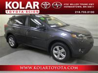 RAV4 XLE, AWD, ONE Owner Per AUTO CHECK History Report,