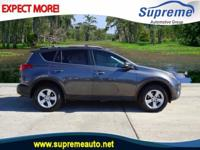 2013 Toyota RAV4 XLE  in Gray. Black w/Fabric Seat