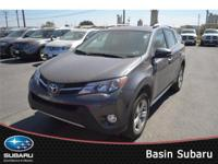 Meet our 2013 Toyota RAV4 XLE shown in sparkling