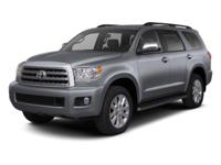 Clean CARFAX. Certified. GRAY 2013 Toyota Sequoia