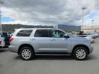 Options:  2013 Toyota Sequoia Platinum|Four Wheel