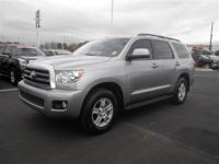 Check out this gently-used 2013 Toyota Sequoia we