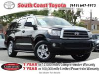 CARFAX One-Owner. Clean CARFAX. Black 2013 Toyota