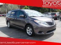 Options:  2013 Toyota Sienna Le|Gray/|V6 3.5L