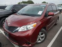 Recent Arrival! 2013 Toyota Sienna LECARFAX One-Owner.