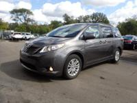 CARFAX One-Owner. Certified. Gray 2013 Toyota Sienna