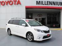 Check out this gently-used 2013 Toyota Sienna we
