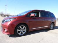 Clean, low-mile 2013 Toyota Sienna SE Front-wheel drive