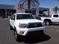 Awesome 4x4 PreRunner double cab Tacoma. This two owner