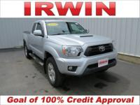 4WD! TOYOTA CERTIFIED! LOW MILES! ACCIDENT FREE VEHICLE