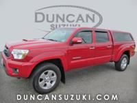 2013 Toyota Tacoma Double Cab 4WD, Barcelona Red