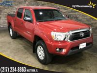 2013 Toyota Tacoma Barcelona Red Metallic Accident Free