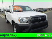White 2013 Toyota Tacoma RWD 5-Speed Manual with