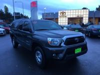 Clean CARFAX. Certified. Gray 2013 Toyota Tacoma SR5