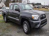 Climb inside the 2013 Toyota Tacoma! Worthy equipment