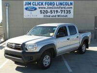 New Arrival! This 2013 Toyota Tacoma 2WD DBL CAB I4 AT