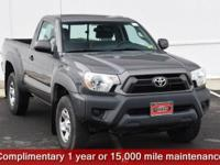 Certified. Magnetic Gray Metallic 2013 Toyota Tacoma