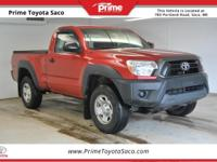CARFAX One-Owner! Toyota Certified! 2013 Toyota Tacoma