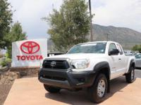 4WD. CARFAX One-Owner. Clean CARFAX. White 2013 Toyota