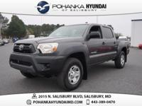 Magnetic Gray Metallic 2013 Toyota Tacoma PreRunner ONE