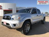 Recent Arrival!   Silver 2013 Toyota Tacoma PreRunner