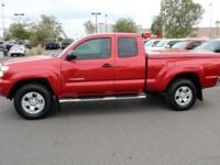 Tacoma trim, Barcelona Red Metallic exterior and