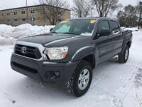 The Toyota Tacoma is a 4WD Pick up. Some specs are