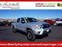 EPA 21 MPG Hwy/16 MPG City! CARFAX 1-Owner. Tacoma