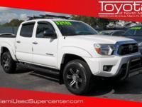 Options:  2013 Toyota Tacoma|White/|V6 4.0L |20960