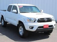 Options:  2013 Toyota Tacoma Base|White|Full Exterior &