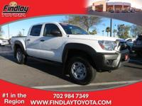 Tacoma trim. Dealer Certified, LOW MILES - 38,035! FUEL