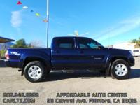 Options:  2013 Toyota Tacoma |V6; 4.0 Liter|Automatic;