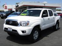 Options:  2013 Toyota Tacoma 4Wd|This Vehicle Has A
