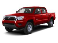 Options:  2013 Toyota Tacoma Limited Double Cab