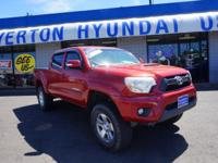 Recent Arrival! 2013 Toyota Tacoma V6 Red 4WD. The #1