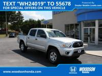 2013 Tacoma V6 with the TRD Off-Road package,