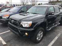 4x4 TRD SPORT CERTIFIED TACOMA. AWESOME TRUCK BUILT TO