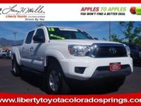 CARFAX 1-Owner, ONLY 40,329 Miles! SUPER WHITE