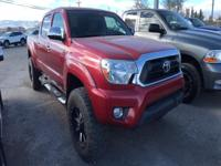Options:  2013 Toyota Tacoma 4X4 V6 Automatic|Less Than