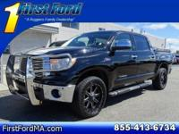 Clean CARFAX. Certified. Black 2013 Toyota Tundra
