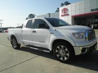 White 2013 Toyota Tundra Grade RWD 6-Speed Automatic