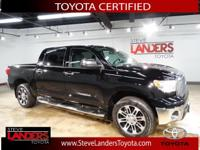 Toyota Certified. SR5 4WD with TSS Package, 170-Amp