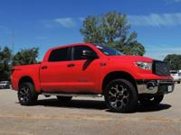 2013 Toyota Tundra Crewmax SR5 in Red with Graphite