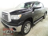 Options:  2013 Toyota Tundra 4Wd Crewmax 5.7L V8 6-Spd